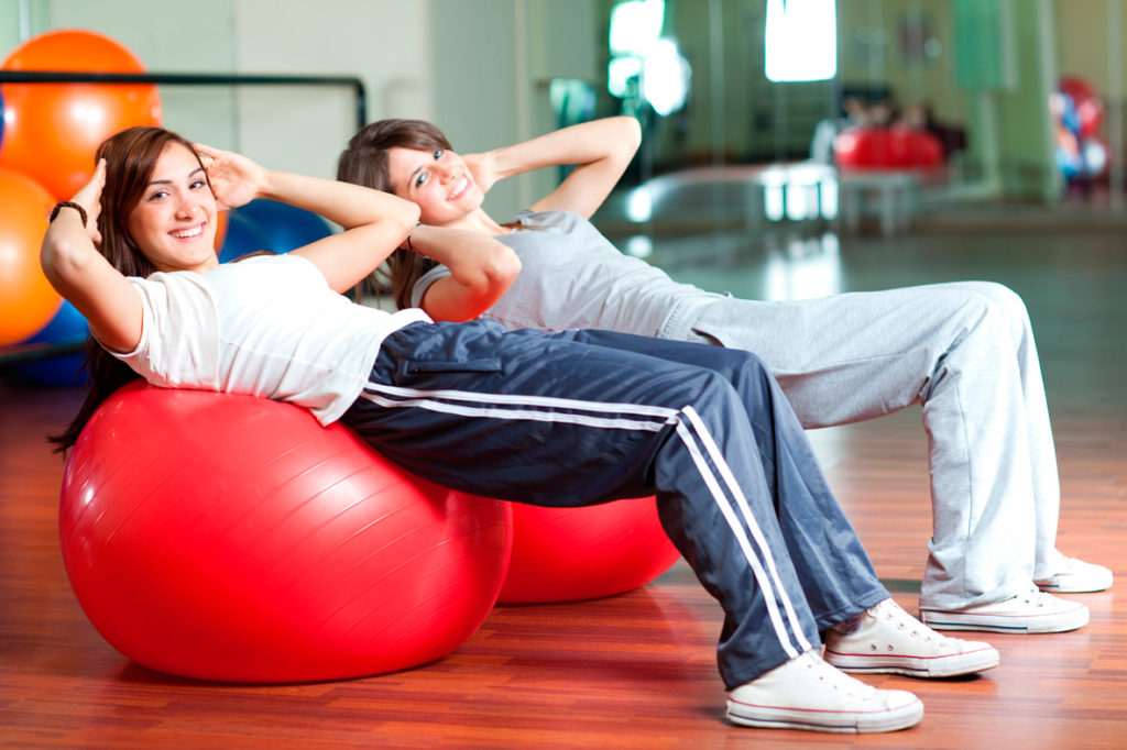 Как полюбить фитбол с пользой для здоровья?