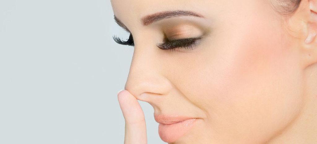 Изменение формы носа в домашних условиях