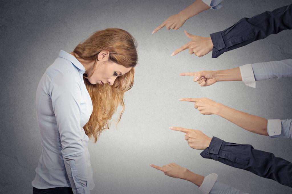 В каких ситуациях страдает самооценка?